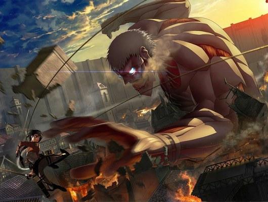 attack on titan titans 13