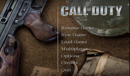 call of duty games 4