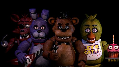 five nights at freddy's characters 1