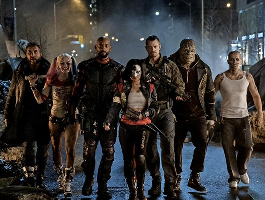 Who are the Suicide Squad characters in the movie?