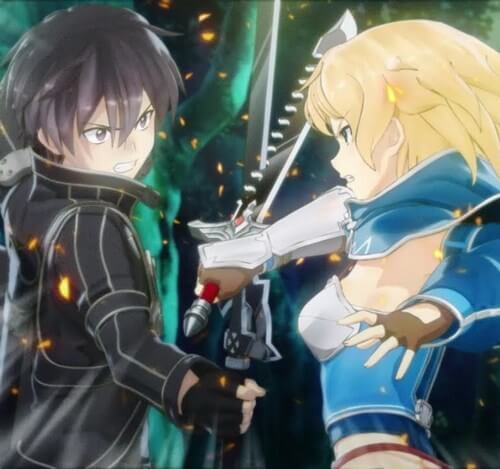 sword art online swords 9
